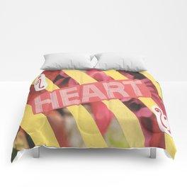 I Heart U. Comforters