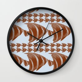 Fish2 Wall Clock
