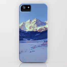 The Wonder of Maroon Bells iPhone Case