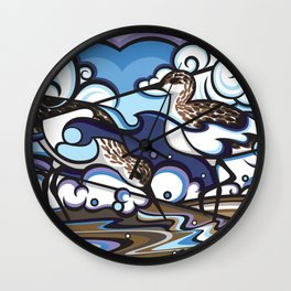 The Sandpipers Wall Clock