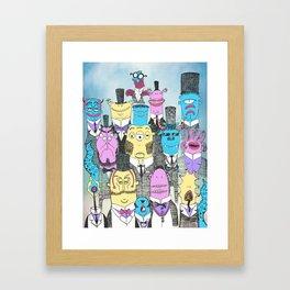 A Few Good Monsters Framed Art Print