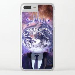 Salesman in Mercury Clear iPhone Case