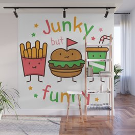 Junky but Funny Wall Mural
