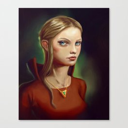 Emerald Princess Canvas Print