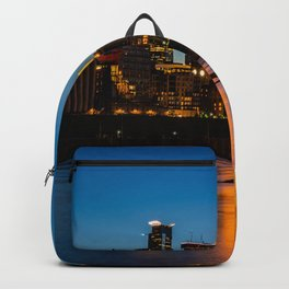 Stone Arch Bridge Illuminated Backpack