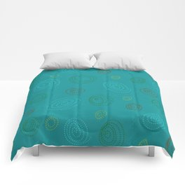 Spirales en Folie Comforters