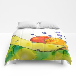 Bubbly Mixed Fruit Comforters