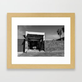 Sidewalk Spaza Shop Framed Art Print