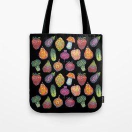 Vitamins (black) Tote Bag