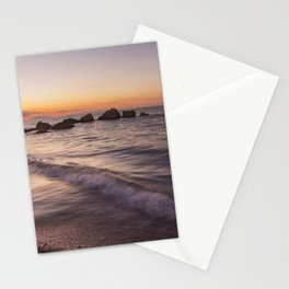 Tranquility after sunset Stationery Cards