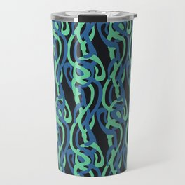 Sinuous Pattern Travel Mug