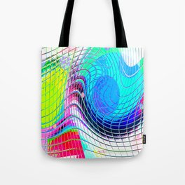 Re-Created Function f(x) No. 6 by Robert S. Lee Tote Bag