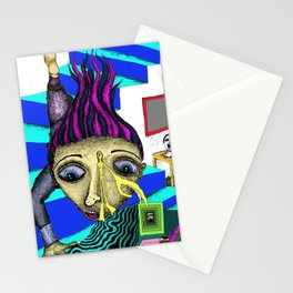 Missed a Step Stationery Cards