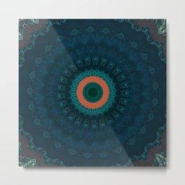 FineLine Mandala 9 Metal Print