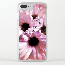 Love Those Daisies Clear iPhone Case