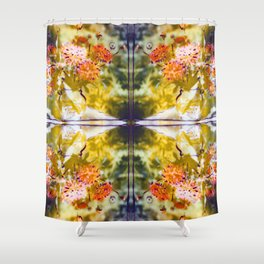 Marigold Photographic Pattern #2 Shower Curtain