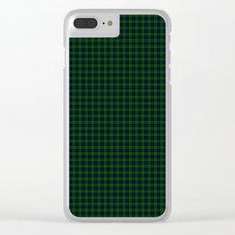 Ogilvie Tartan Clear iPhone Case