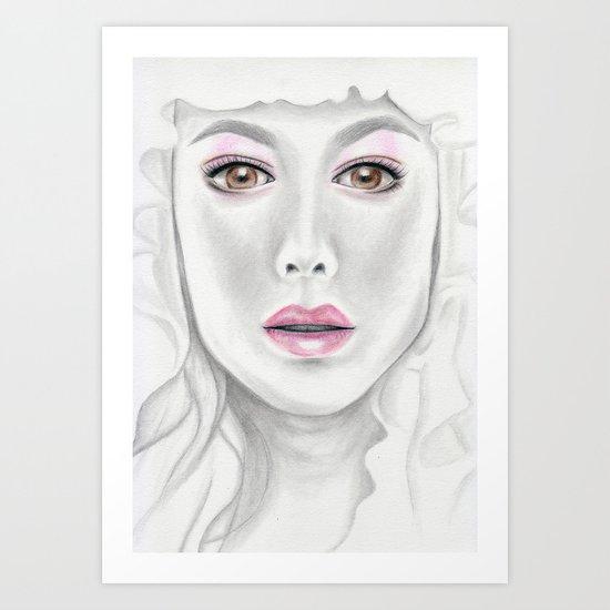 Porcelain Beauty Art Print