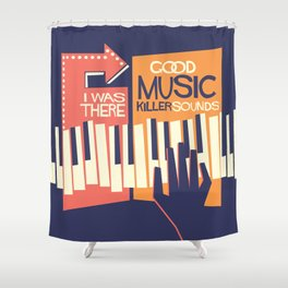 For The Love Of Music Shower Curtain