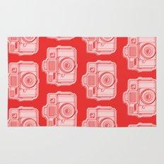 I Still Shoot Film Holga Logo - Reversed Red Rug