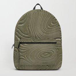Carved Wood Backpack