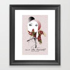 Isn't She Lovely Framed Art Print