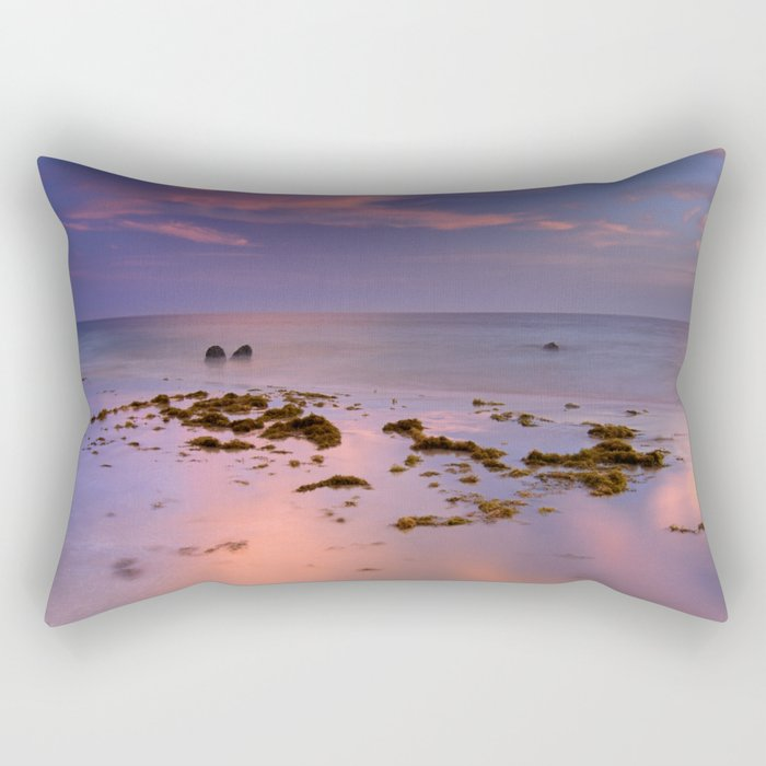 """Bolonia beach III"" Rectangular Pillow"
