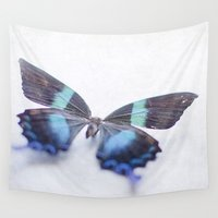 butterfly Wall Tapestries featuring Butterfly by Pure Nature Photos