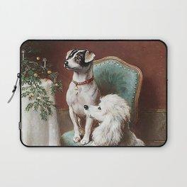 Christmas Dogs Laptop Sleeve