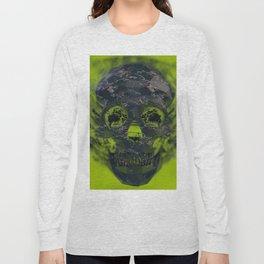 Skull Explotion Long Sleeve T-shirt