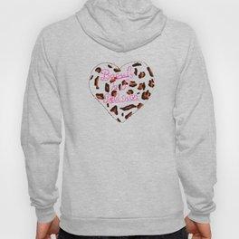 BeautyIsAReligion `Leopard Heart` Hoody