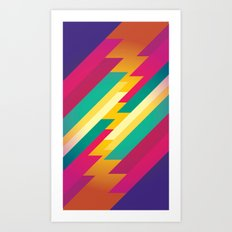 geometric_04 Art Print