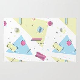 Retro Memphis Pattern Design Rug