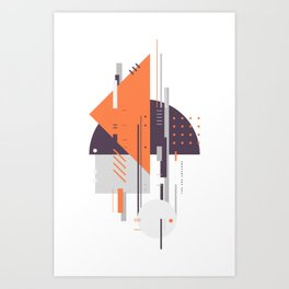 WNG 226 Art Print