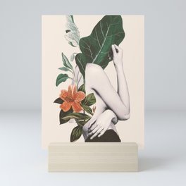 natural beauty-collage 2 Mini Art Print