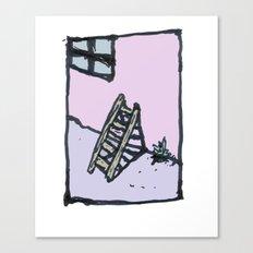 Pastel Memory Canvas Print
