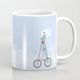 The World's Tallest Bicycle The Eiffel Tower Bike Coffee Mug