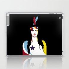 =Juliette Lewis///Black= Laptop & iPad Skin