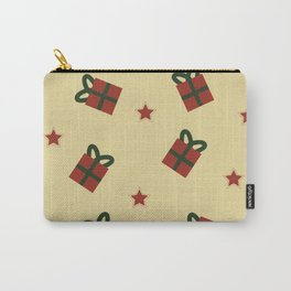 Gifts and stars pattern Carry-All Pouch