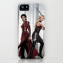 SwanQueen Enchanted Forest iPhone Case