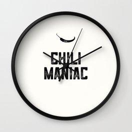 Chili Maniac Wall Clock