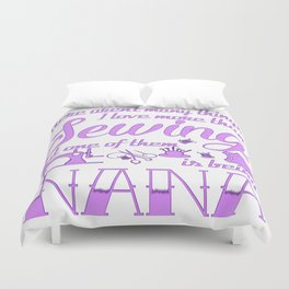 Sewing Nana Duvet Cover