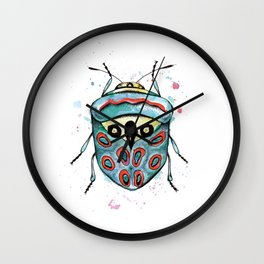 The Picasso Bug Wall Clock