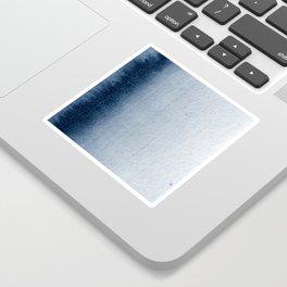 Indigo Vertical Blur Abstract Sticker