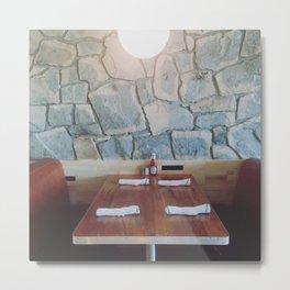 King Highway Diner, Palm Springs Metal Print