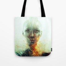 Magma Tote Bag