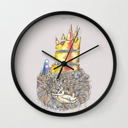 Lucky Mud Lucky Me Wall Clock
