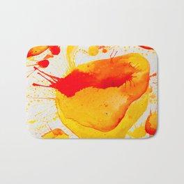 Orange Study Bath Mat