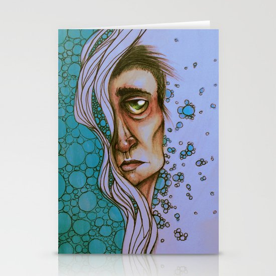 Floating On By Stationery Cards