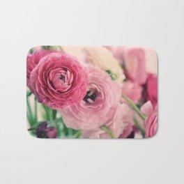 Ranunculus in Pink Bath Mat